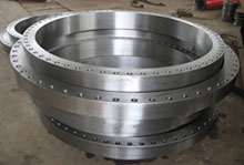 河北高压大型锻造带颈对焊法兰WN法兰不锈钢对焊法兰生产厂家
