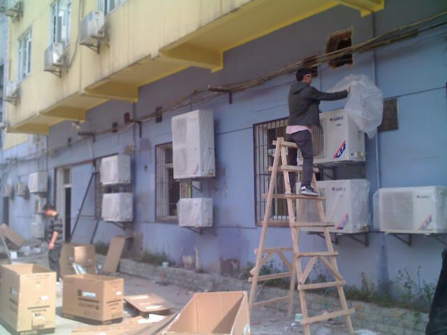 佛山南海九江,沙头,西樵,龙江专业安装拆装空调,清洗空调冷气