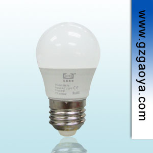 3W 迷你型LED球泡灯  E27 螺口  家居照明